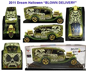 """Hot Wheels 2011 Dream Halloween """"BLOWN DELIVERY"""" Rare Limited Edition 1:64 Scale Collectible Die Cast Car"""