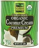 Native Forest Organic Coconut Cream, 96 Ounce