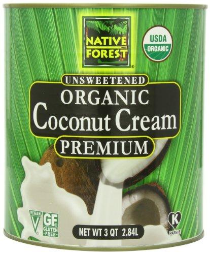 Native forest coconut cream