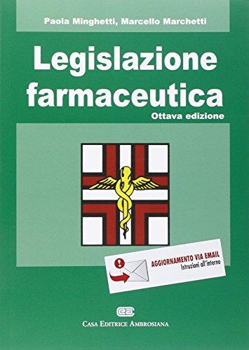 Legislazione farmaceutica PDF