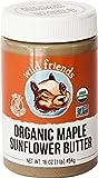 Wild Friends Foods Sunflower Butter, Maple, 16 oz Jar