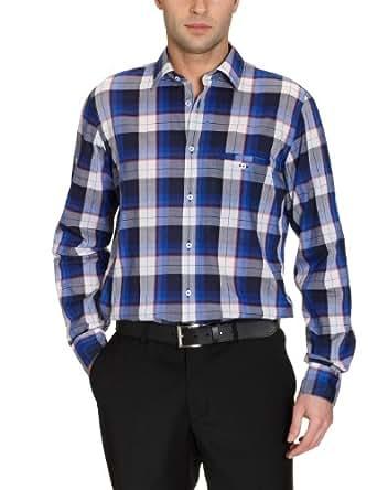 Benvenuto Herren Businesshemd 61131273861254, Gr. 38, Blau (1254 Stimmungsblau)