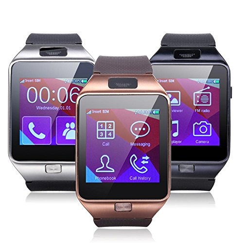 ELEGIANT Z20 Clock SmartWatch Bluetooth Touch Screen Watch Bracelet Mini Smartphone With multifunction Photography Music player video player pedometer, sleep monitoring Anti-Loss System For Android Samsung Sony Nokia HTC Huawei LG Top Smartphone with ...