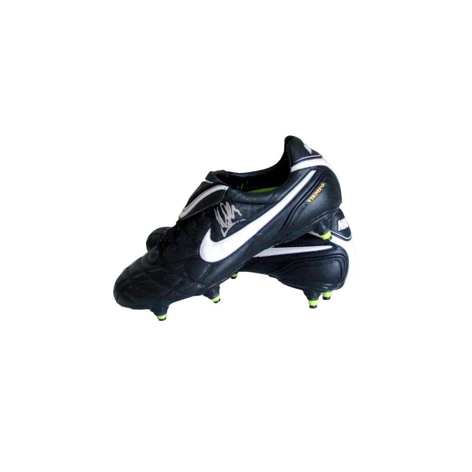 best website 7b16f 1c090 Cesc Fabregas Signed Nike Tiempo Legend Football Cleat Autographed Soccer  Equipment