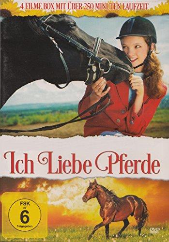 Ich liebe Pferde (4 Filme) : Das vergessene Pferd / Das letzte Einhorn kehrt zurück / Auf dem Reiterhof / Pferde