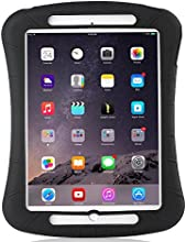 iXCC ® Shockproof Silicone Case Cover for All Apple iPad Air Models, Extreme Heavy Duty [Drop Proof, Kids Proof, Shock Proof, Anti slip] High Quality Rubber Soft Gel Material Offers Robust Protection for Kids, Baby, Children, Boys and Girls [Black]