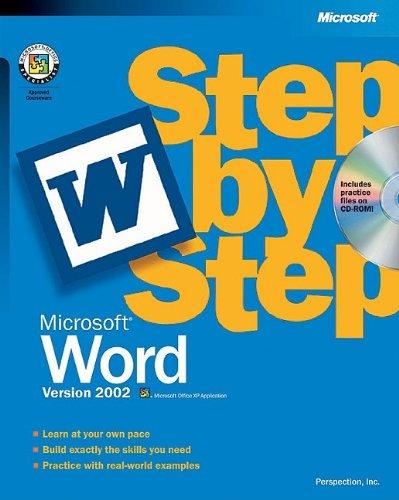 Microsoft® Word Version 2002 Step By Step