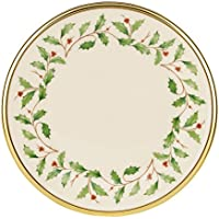 Lenox Holiday Butter Plate (Ivory and Platinum)