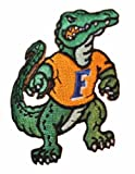 "NCAA Florida GATORS Full Figure Gator Mascot 1 3/4"" Wide Embroidered Patch at Amazon.com"