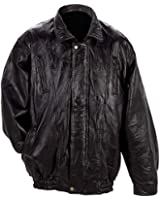 Italian Mosaic Design Genuine Lambskin Leather Jacket style - gfcoat