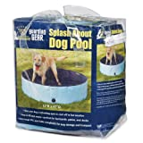 Cool Pup Splash About Dog Pool Medium, Blue