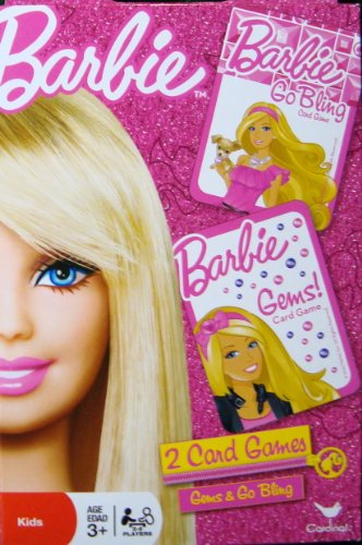 Barbie 2 Card Games - Barbie Gems & Barbie Go Bling