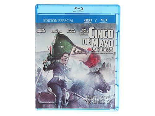 Cinco De Mayo La Batalla Blu Ray + DVD Multiregion (Spanish Audio and English Subtitles)
