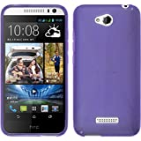 Silicone Case for HTC Desire 616 - X-Style hot pink - Cover PhoneNatic