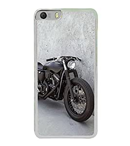 Racing Bike 2D Hard Polycarbonate Designer Back Case Cover for Micromax Canvas Knight 2 E471
