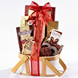 Broadway Basketeers Gourmet Chocolate Gift Basket