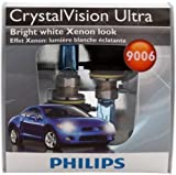 Philips 9006 CrystalVision Ultra Headlight Bulbs (Low-Beam), Pack of 2