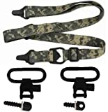 Ultimate Arms Gear Heavy Duty Set of Two QD Quick Detach Black Steel 1