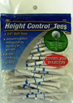 Jef World of Golf Gifts and Gallery, Inc. Height Control Tees 3 1/4-Inch - 50 Pack (White)