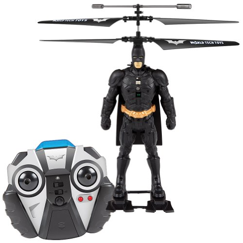 Batman DC Comics Helicopter - Dark Knight Flying Superhero RC Toy - 1