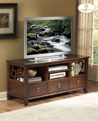 Cheap TV Stand of Matrix Collection by Homelegance (32380-T)