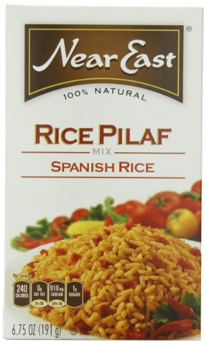 Near East Spanish Rice Pilaf Mix, 6.75-Ounce Boxes (Pack Of 12)