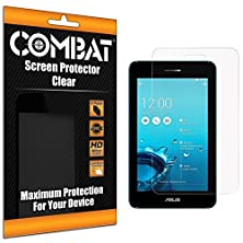 buy Cell Accessories For Less (Tm) Clear Combat 6 Pack Hd Clear Screen Protector For Asus Padfone X Mini Bundle (Stylus & Micro Cleaning Cloth) - By Thetargetbuys