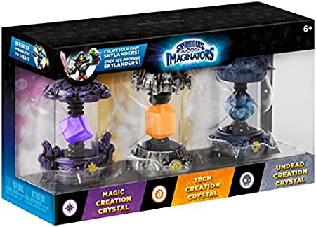 Skylanders Imaginators - Crystal 3 Pack - Magic, Tech and Undead (Xbox One/PS4/PS3/Xbox 360/Nintendo Wii U)
