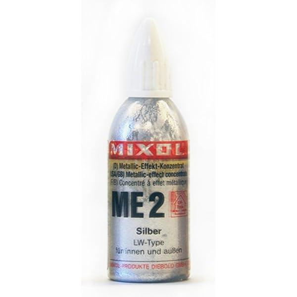 Mixol Metallic Effect Tint Silver 20g (Color: Silver, Tamaño: 20g)