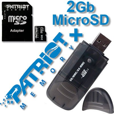 2Gb Micro SD Memory Card For LG VX8500 Chocolate enV PLUS FREE Card READER/WRITER