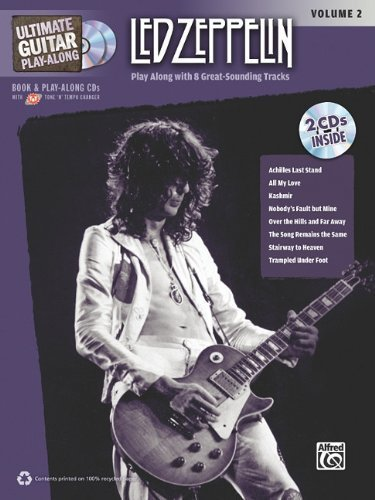 Ultimate Guitar Play-Along Led Zeppelin, Vol 2: Authentic Guitar Tab (Book & 2 Cds) [Sheet Music]
