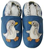 Soft Leather Baby Shoes 0 6 Penguin Design
