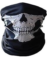 Schädel tubuläre schützende Staub Maske Bandana Motorrad Polyester Schal Face Neck Warmer