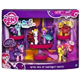 My Little Pony Exclusive Set Royal Ball At Canterlot Castle Twilight Sparkle, Pinkie Pie, Rainbow Dash, Fluttershy, Applejack, Rarity Spike the Dragon