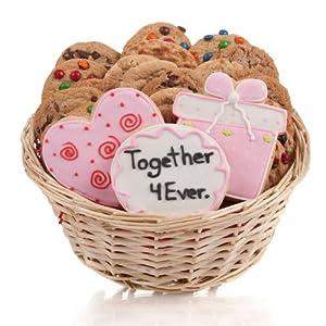 Wedding Gift Baskets Amazon : Amazon.com : Wedding Cookie Gift Basket- 24 Pc. : Gourmet Baked Goods ...