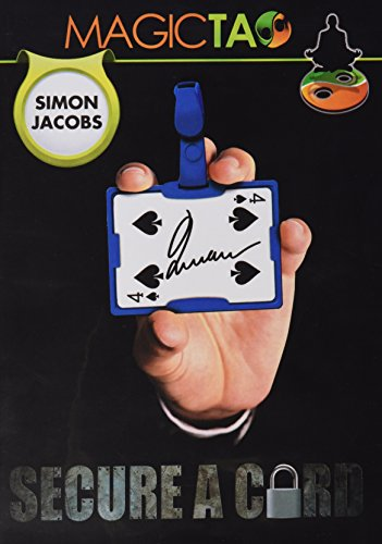 MMS Secure a Card Simon Jacobs and Magictao Trick Kit, Red - 1