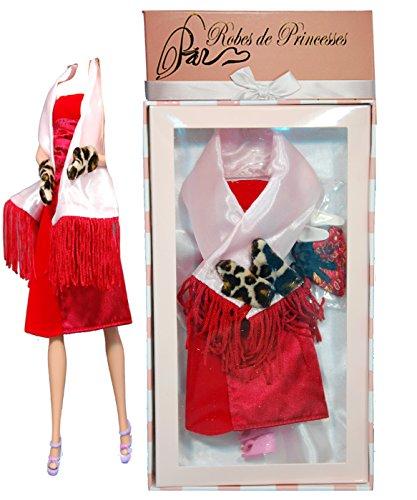 """Vestito da principessa """"BELLA"""" per Bambole Barbie, Disney ed altri personaggi."""