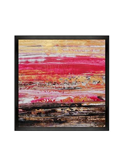 "Lisa Carney ""P1414"" Framed Print on Canvas"