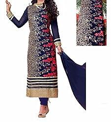 Starword Anarkali new style dress,Blue