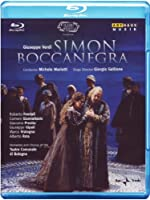 Simon Boccanegra [Blu-ray] [(+booklet)]