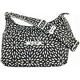 Ju-Ju-Be Hobo Be Messenger Diaper Bag, Platinum Petals