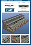 HMV 3464 Papermodel Port Facility - Quayside Warehouse