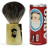 Rusty Bob - Afeitarse hecha de genuina pelo de tejón y jabón de afeitar Arko - Mosaik