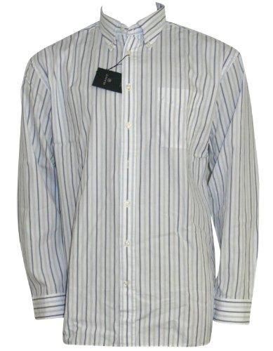 GANT -  Camicia Casual  - Maniche lunghe  - Uomo Bianco bianco S