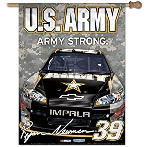 Ryan Newman 39 NASCAR Outdoor Vertical House Flag by WinCraft