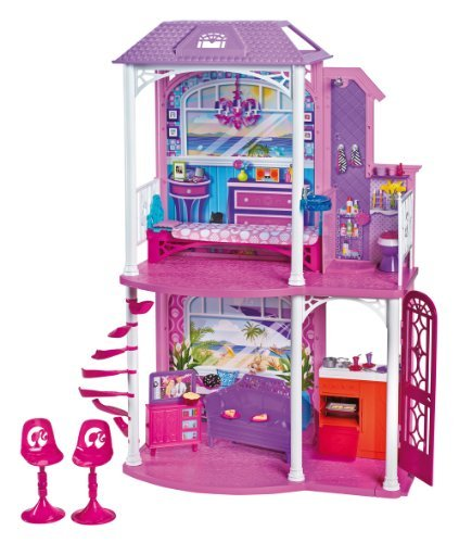 Top Barbie 2-Story Beach House Children, Kids, Game, Child, Play