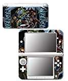 Avengers 3 Spider Man Hulk Iron Hawkeye Thor Black Widow Thanos Age of Ultron Video Game Vinyl Decal Skin Sticker Cover for Original Nintendo 3DS XL System