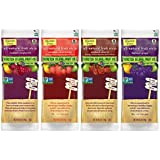 Stretch Island All-Natural Gluten Free Fruit Strips 4 Flavor 16 Snack Variety Bundle: (4) Stretch Island Ripened Raspberry, (4) Stretch Island Orchard Cherry, (4) Stretch Island Summer Strawberry, and (4) Stretch Island Harvest Grape, .5 Oz. Ea. (16 Snacks Total)
