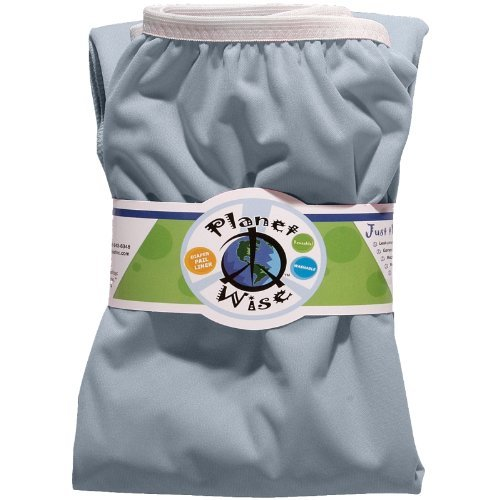Planet Wise Reusable Diaper Pail Liner, Baby Blue Color: Baby Blue Newborn, Kid, Child, Childern, Infant, Baby front-98248