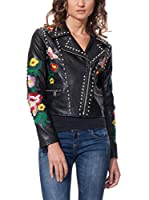 DROLE DE COPINE Chaqueta With Tacks (Negro)